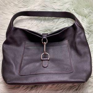 Dooney & Bourke Brown Leather Tote Bag